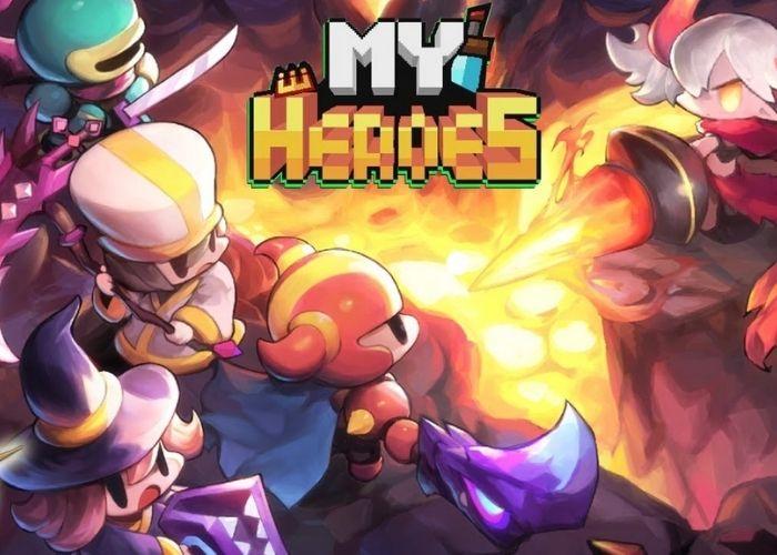 My Heroes: ฮีโร่พิกเซล เกมมือถือน่ารัก สุดมันส์ เกมออนไลน์ เกมมือถือ เล่นเกม